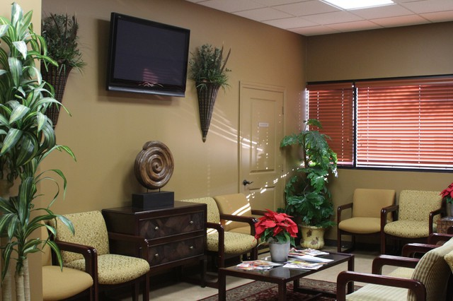 Patient Waiting Room at Texas Spine Center in Houston