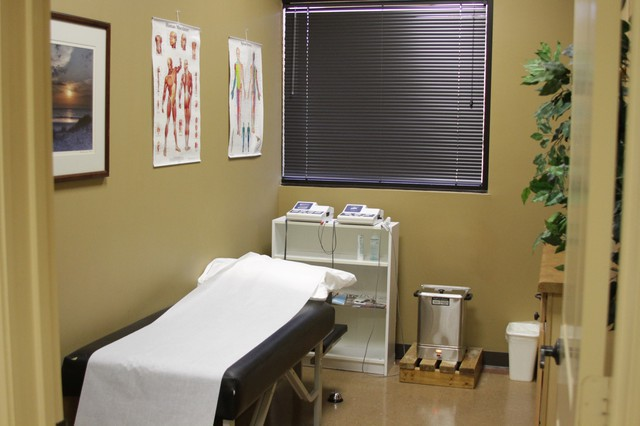 Examination Room at Texas Spine Center in Houston