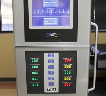 Spine Examination Machine Results at Texas Spine Center in Houston